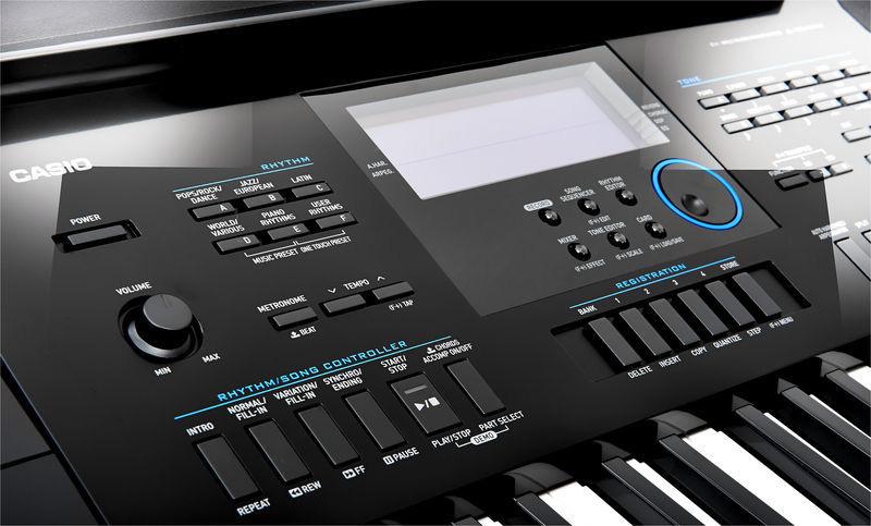 Музыку на синтезатор casio